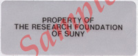 Property of the Research Foundation of SUNY