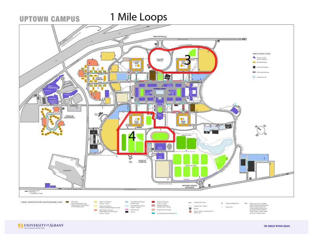 Albany Campus Map Submited Images