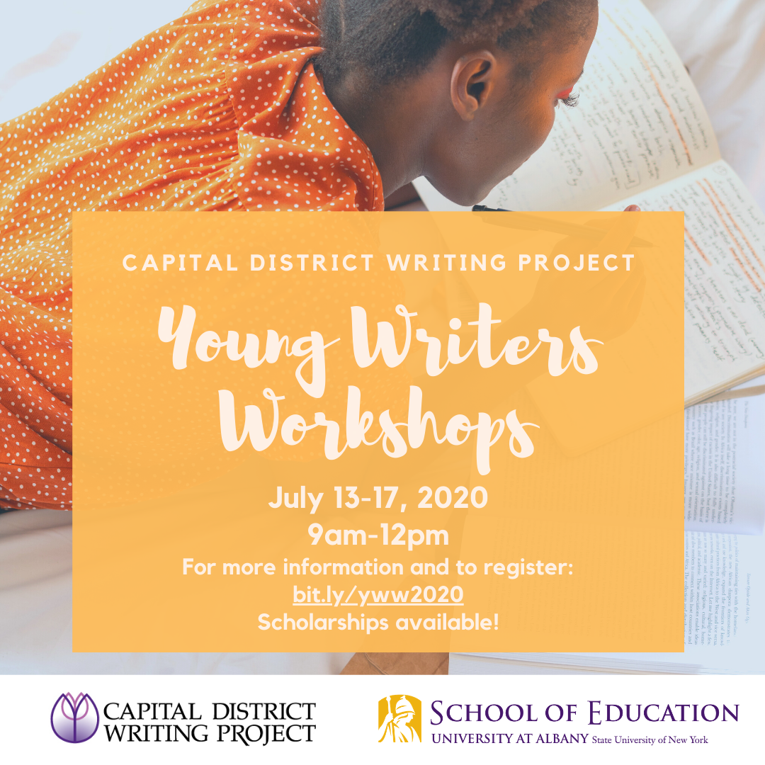 Young Writers Workshops flyer