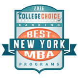 College Choice Best MBA programs in NYS