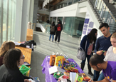 Students offer free snacks during finals week