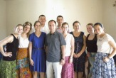 UAlbany and SUNY Geneseo SOE students teaching in Ghana