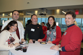 School of Business faculty enjoy holiday party