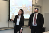 MBA students present their findings