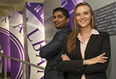 Students in UAlbany Financial Market Regulation Program
