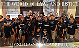 World of Laws and Justice Student group picture