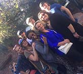 Group shot of SSW students in New Orleans