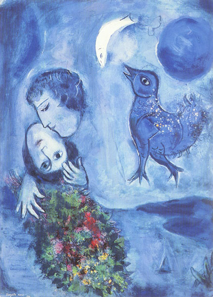 Marc Chagall: Blue Landscape, 86k
