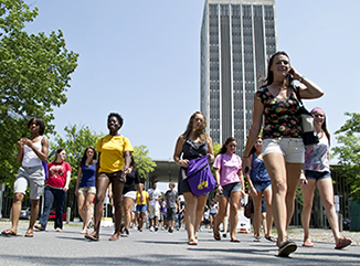 UAlbany begins the 2014-2015 academic year