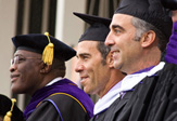 UAlbany Spring Commencement -- President Jones and the Lipmans
