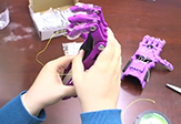 UAlbany students make 3D Hands