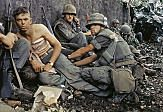 Wounded American soldiers, Vietnam