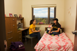 Students in UAlbany Dorms