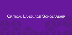 Click to learn more about Critical Language Scholarship