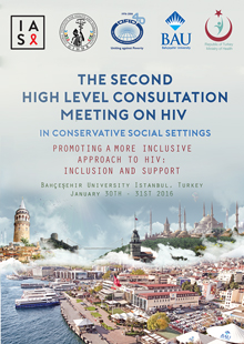 Flyer for Second High Level Consultation Meeting on HIV in Conservative Social Settings