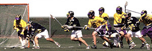 UAlbany's Men's Lacrosse Team
