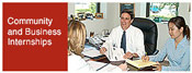 Community and Buisiness Internships