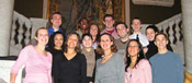 Students intern in the nation's political hub