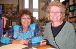 Edna with Dr. Christine Bose