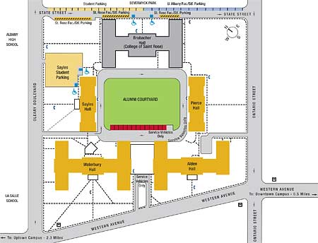 Ualbany Downtown Campus Map.University At Albany Suny