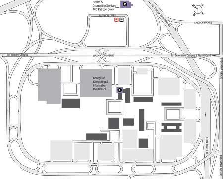 harriman state campus map University At Albany Suny harriman state campus map