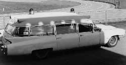 Photo of the first 5 Quad ambulance courtesy of Bob Elling '82, '90.