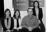 Jennifer Brooks, Amanda Nickerson, Frank Salamone and Sarah Colby