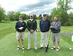 Golfers at the 2004 Great Danes outing.