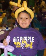 Having Fun at the Big Purple Growl!