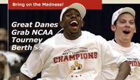 Great Danes Grab NCAA Tourney Berth