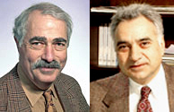 From left to right: Eric Block and Kenneth L. Demerjian