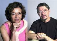 Left Judith Langer; right Arthur Applebee.