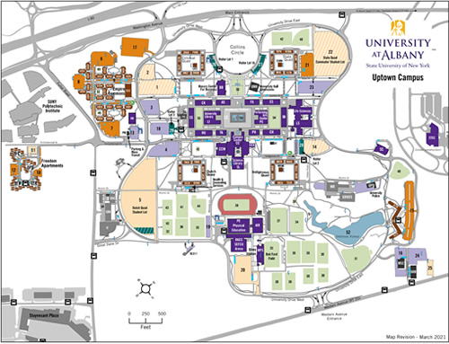 Suny Albany Campus Map Campus Maps and Directions   University at Albany