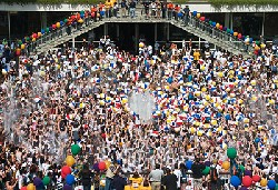 University at Albany's Celebration of School Spirit: Fountain Day 2008