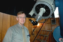 Professor John Delano, Department of Earth and Atmospheric Sciences, is among the leading scientists in the country, researching the origins of life and the composition of planets at the University at Albany-SUNY.