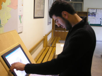 Touchscreen computer