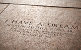 Martin Luther King inscription at Lincoln Memorial