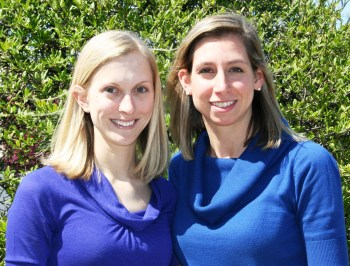 UAlbany 2010 CDC Fellows Gaia Abell and Jennfer Sears.