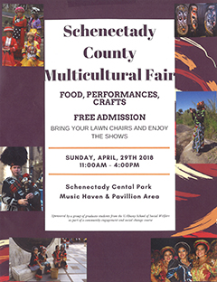 poster for April 29 Multicultural Fair