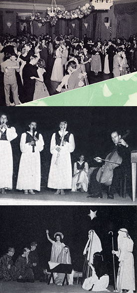 UAlbany holidays from the 1940s