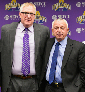 Greg Gattuso and Bob Ford of UAlbany