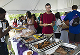The Welcome Back Barbecue kicked off new activities for 2nd year students.