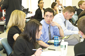 RNA and business school students consult as teams in UAlbany's Student Venture Fund competition