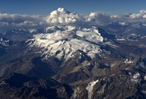 The Quelccaya Ice Cap in the Peruvian Andes, site of Mathias Vuille's latest research