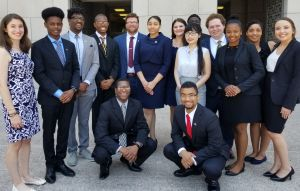 Libra Dolce with other Rangel recipients this past summer.
