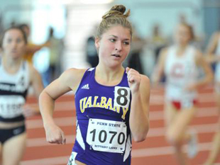 UAlbany women's mile record holder Kathryn Fanning