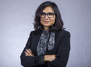 Communication expert Rukhsana Ahmed, professor and chair at UAlbany
