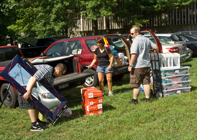 Move-in Day at UAlbany