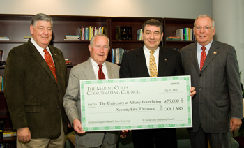 Marine Corps Coordinating Council presents donation
