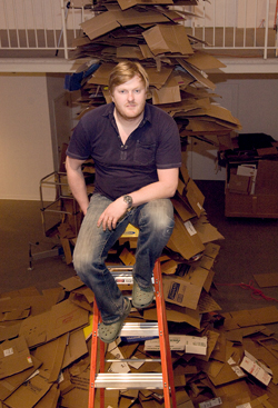 Artist Jason Middlebrook